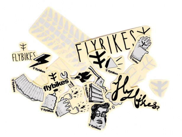 "Flybikes ""Assorted"" Stickerset"