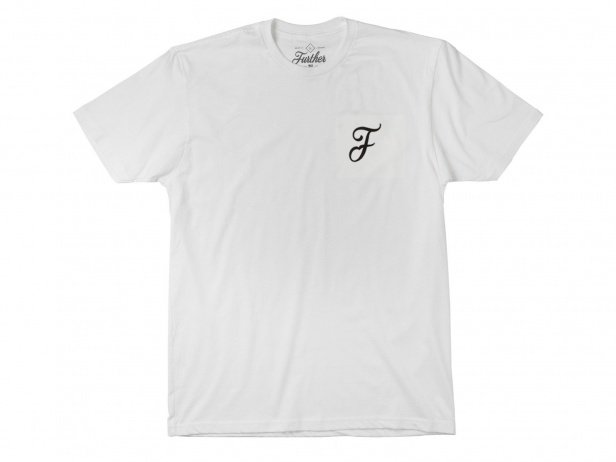 "Further Brand ""Casual F"" T-Shirt - White"