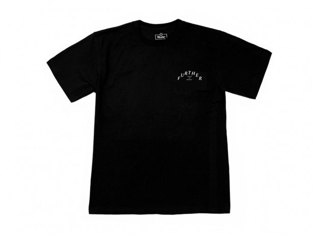 "Further Brand ""Leisure Sports"" T-Shirt - Black"