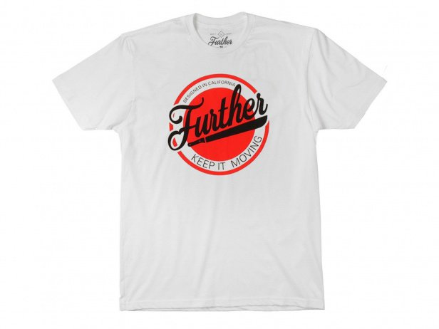 "Further Brand ""Machete Circle"" T-Shirt - White"