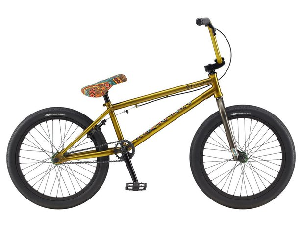 "GT Bikes ""Performer"" 2020 BMX Bike - Glossy Translucent Yellow"