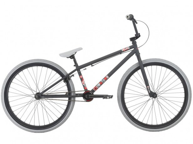 "Haro Bikes ""Downtown 26"" 2018 BMX Cruiser Bike - Matte Black 