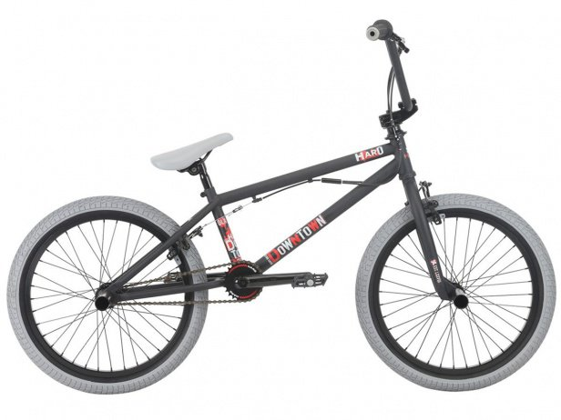 "Haro Bikes ""Downtown DLX"" 2018 BMX Bike - Matte Black"