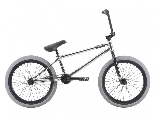 "Haro Bikes ""Midway"" 2018 BMX Bike - Chrome"