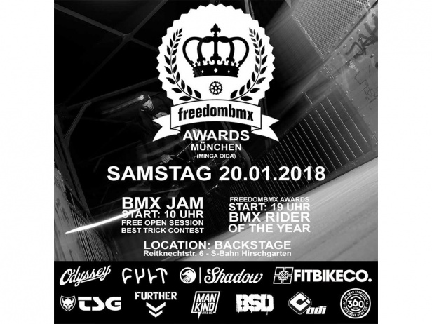 Freedombmx Awards 2017 - nominations