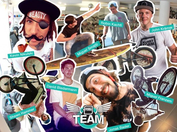 kunstform BMX Shop Team - Saison 2015/2016