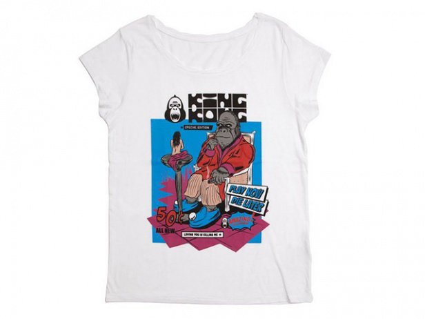 "King Kong ""Loving you Girlie"" T-Shirt - Women"