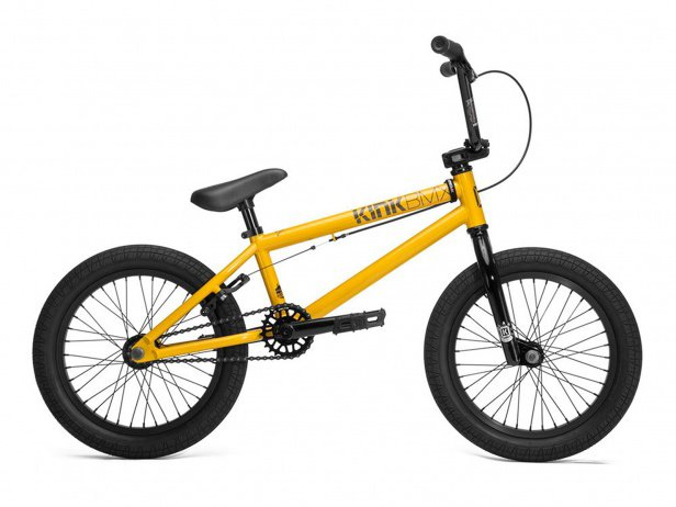 "Kink Bikes ""Carve 16"" 2018 BMX Rad - Gloss Olympic Yellow 