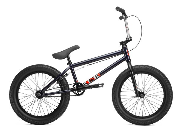 "Kink Bikes ""Kicker 18"" 2019 BMX Bike - Gloss Midnight Blue 