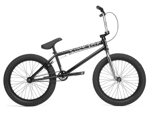 "Kink Bikes ""Launch"" 2020 BMX Bike - Gloss Guinness Black"