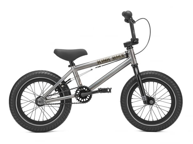 "Kink Bikes ""Pump 14"" 2021 BMX Bike - Matte Digital Charcoal 