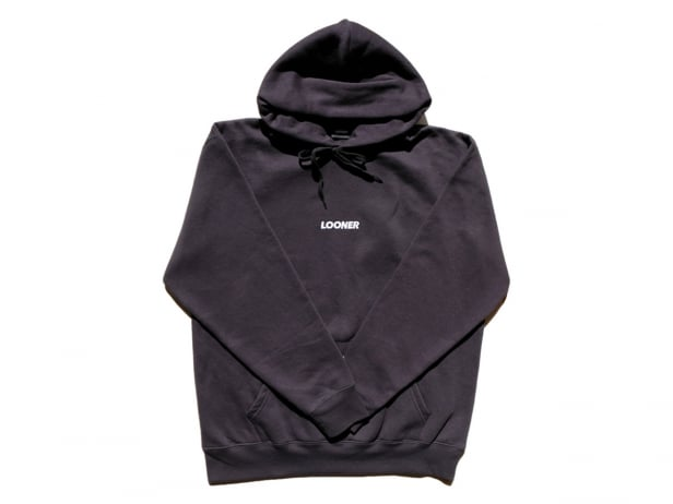 "Looner Wear ""Logo"" Hooded Pullover - Black"