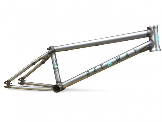 "Mankind Bike Co. ""Getaway"" BMX Frame"