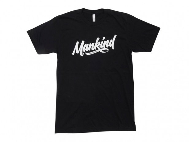 "Mankind Bike Co. ""Groove"" T-Shirt - Black"