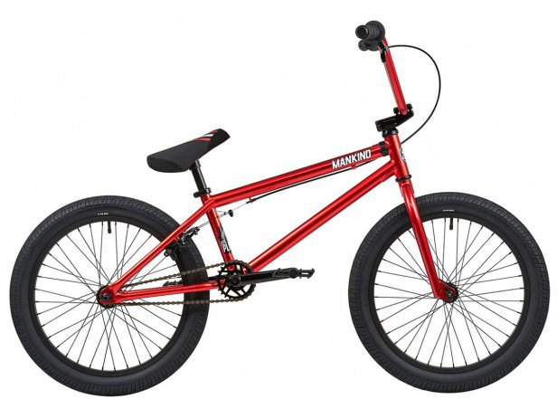 "Mankind Bike Co. ""Planet 20"" 2019 BMX Bike - Chrome Red"