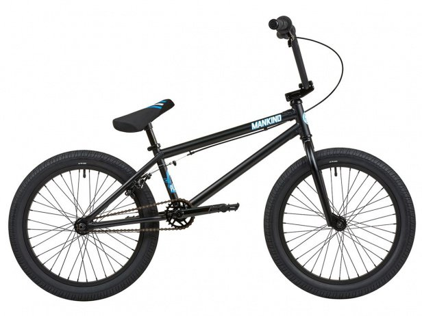 "Mankind Bike Co. ""Planet 20"" 2019 BMX Rad - Matte Black"