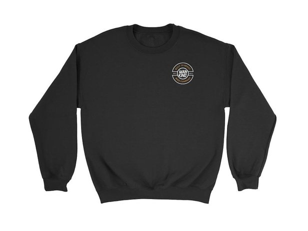 "Mankind Bike Co. ""Resist"" Sweater Pullover  - Black"
