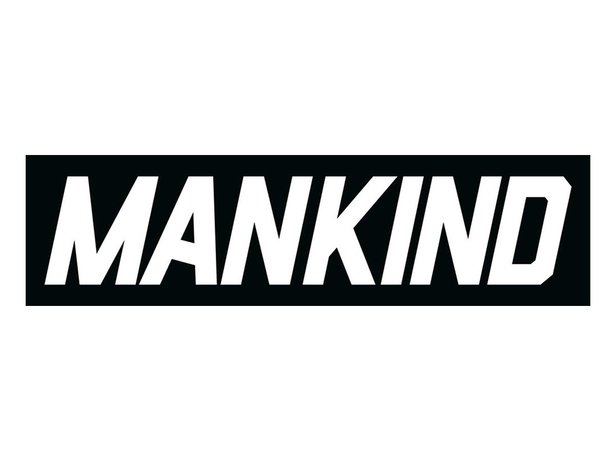 "Mankind Bike Co. ""Script Ramp"" Sticker - 45 cm x 12 cm"