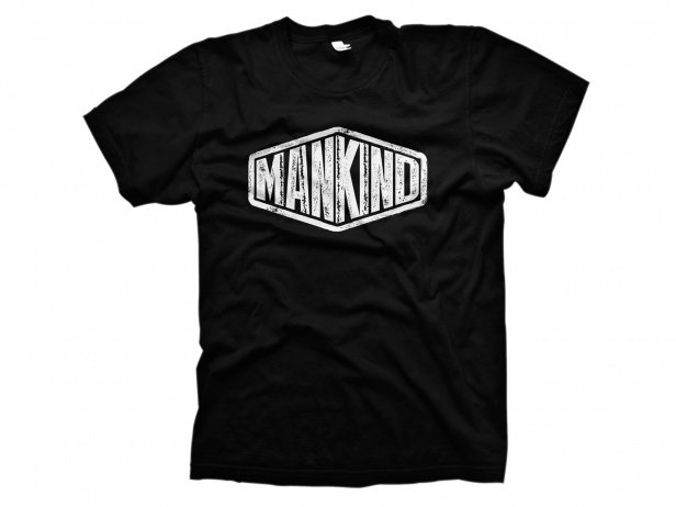 "Mankind Bike Co. ""Sign"" T-Shirt - Black"
