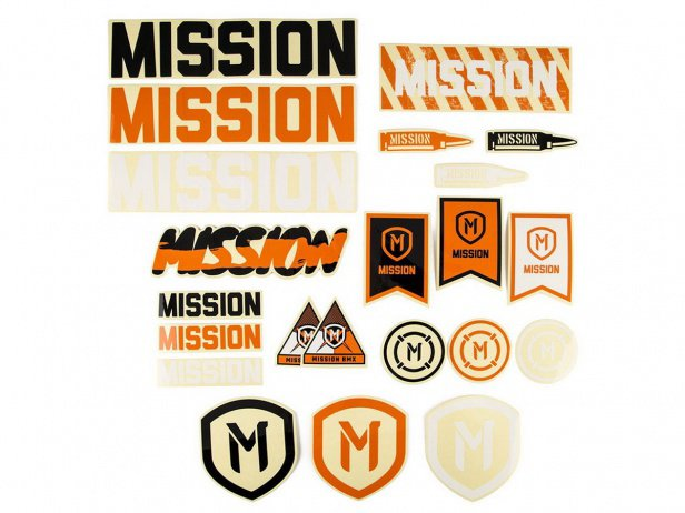 Mission BMX Stickerset