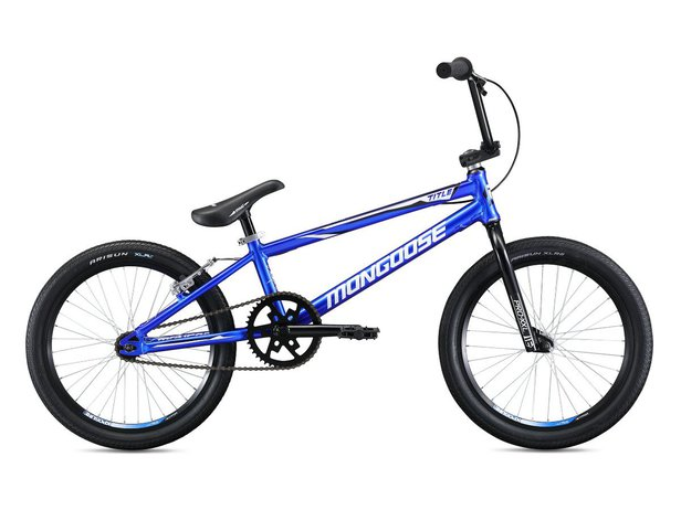 "Mongoose ""Title Pro XXL"" 2020 BMX Race Bike - Blue"