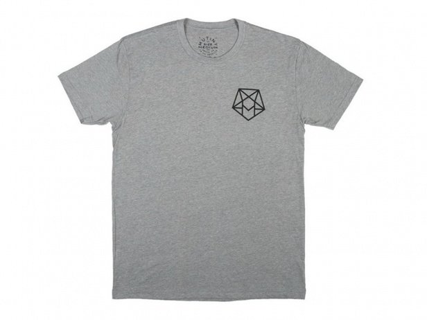 "Mutiny Bikes ""Hexagram"" T-Shirt - Grey"