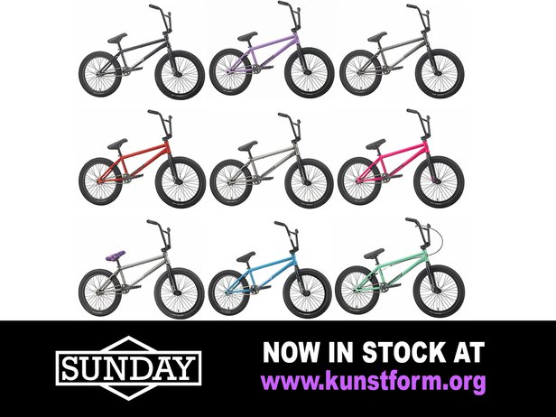 Sunday Bikes 2019 - In stock!