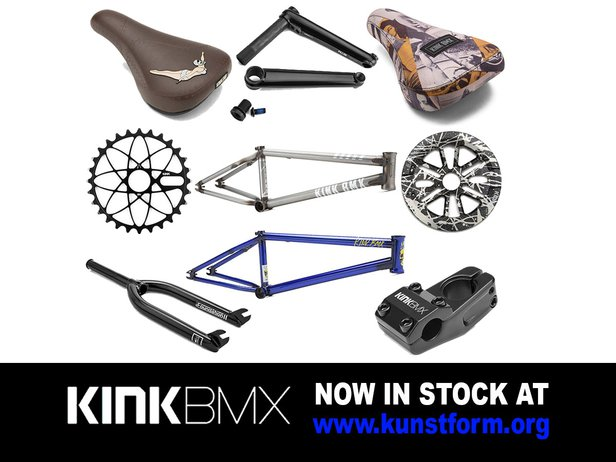 Kink BMX Parts 2018 - In stock!