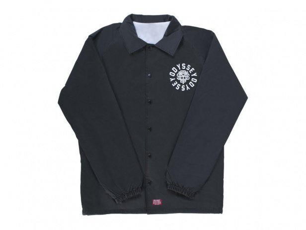 "Odyssey BMX ""Central Coach"" Jacket - Black"