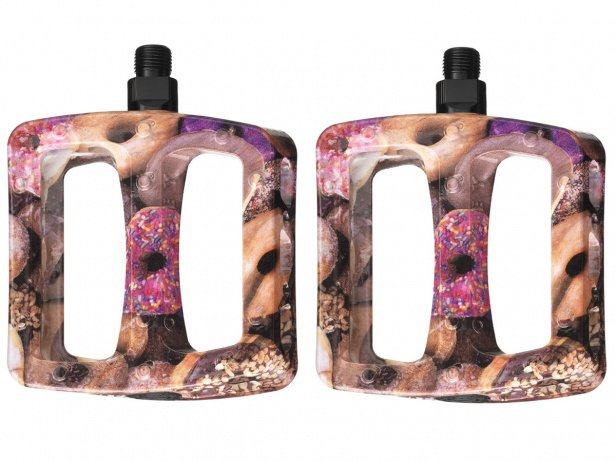 "Odyssey BMX ""Twisted Pro"" Pedals - Donuts Pattern"