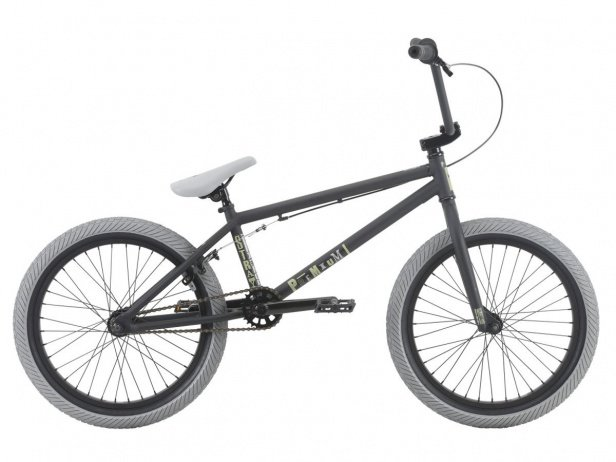 "Premium ""Stray"" 2018 BMX Bike - Matte Black"