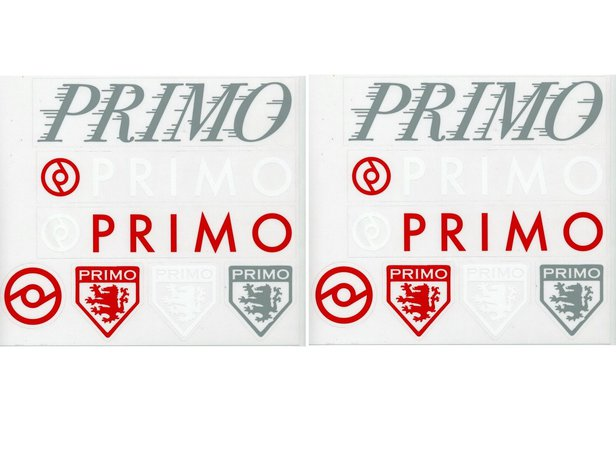 "Primo BMX ""2 Sheets"" Stickerset"