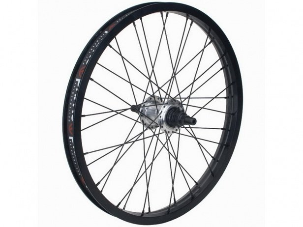"Primo BMX ""VS X Freemix V2 Male"" Freecoaster Rear Wheel - Black/Polish"