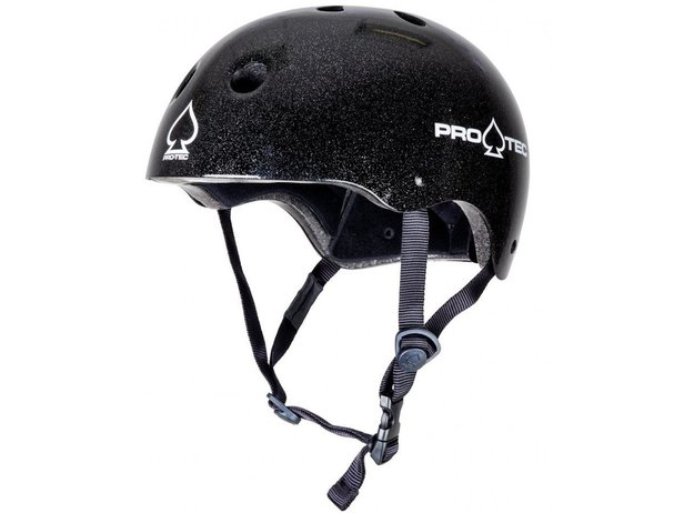 "ProTec ""Classic Certified"" Helm - Black Flake"