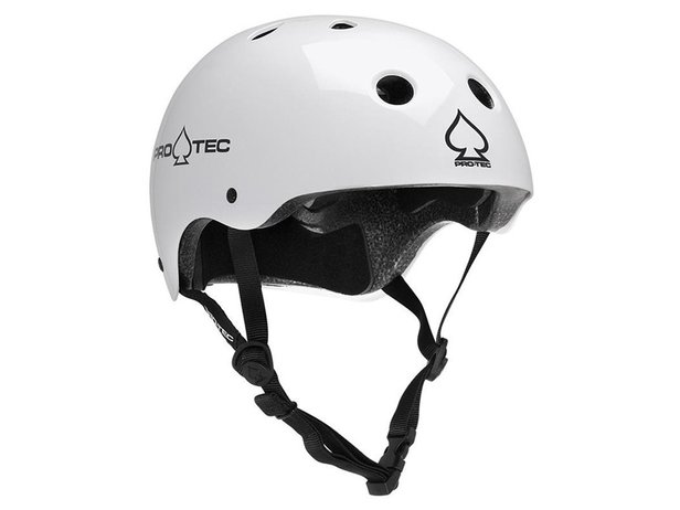 "ProTec ""Classic Certified"" Helm - Gloss White"