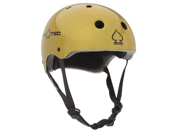 "ProTec ""Classic Certified"" Helmet - Gold Flake"