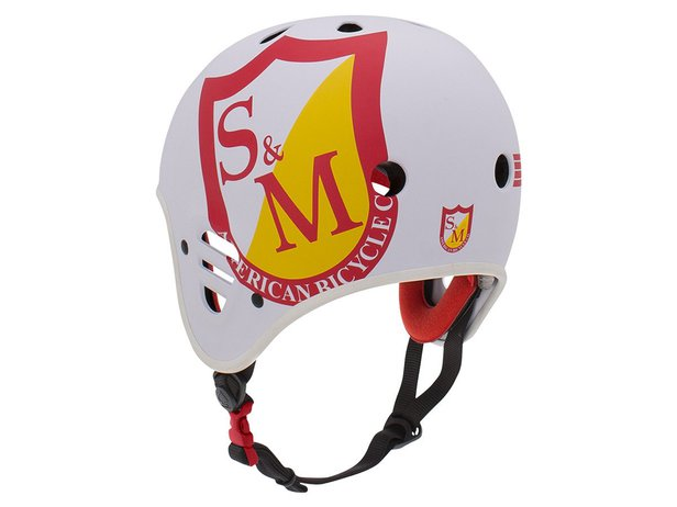 "ProTec ""Full Cut Certified"" Helmet - S&M Matte White"