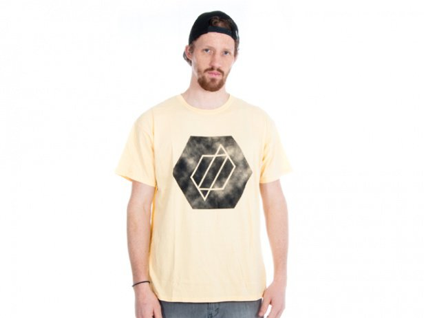 "Proper Bikes ""Hex"" T-Shirt - Yellow"