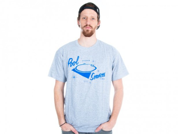 "Proper Bikes ""The Pool"" T-Shirt - Grey"