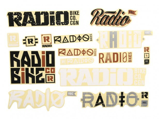 "Radio Bikes ""2017"" Stickerset"