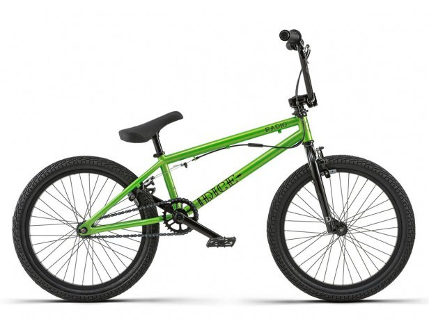 "Radio Bikes ""Dice FS 20"" 2018 BMX Rad - Metallic Green"