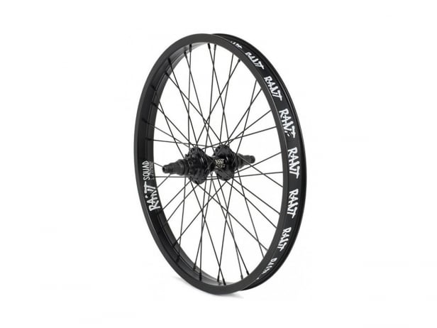 "Rant BMX ""Squad 18 X Party On V2 Cassette"" Rear Wheel - 18 Inch"