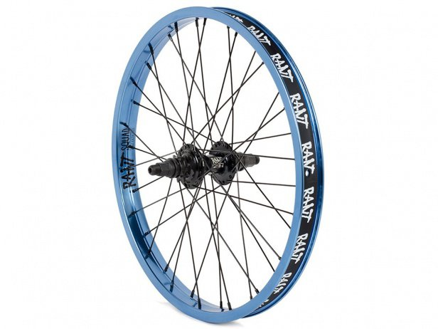 "Rant BMX ""Squad X Party On V2 Cassette"" Rear Wheel"