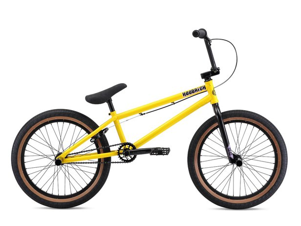 "SE Bikes ""Hoodrich"" 2020 BMX Bike - Yellow"