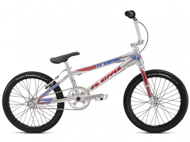 "SE Bikes ""PK Ripper Super Elite XL"" 2018 BMX Race Bike - High Polish Silver"