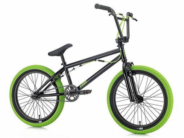 "SIBMX ""FS-1"" 2019 BMX Rad - Black/Green"