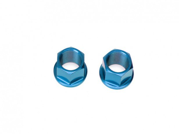 Salt Axle Nuts - Aluminium