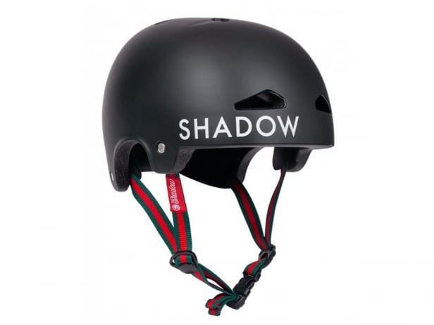 "Shadow X Matt Ray ""Featherweight In-Mold"" Helm - Matte Black"