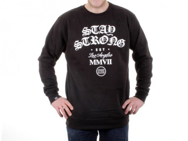 "Stay Strong ""English Crew"" Pullover"