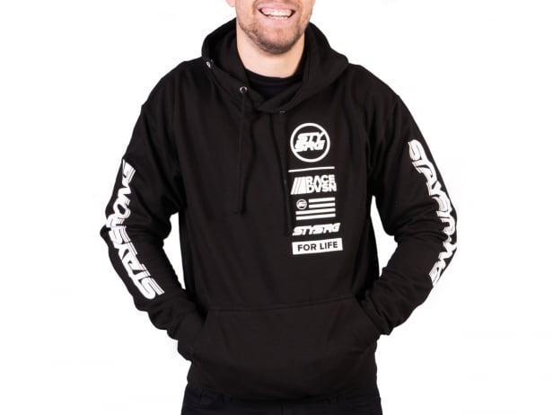 "Stay Strong ""Race DVSN"" Hooded Pullover"
